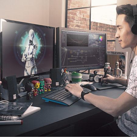 Web, animação e games